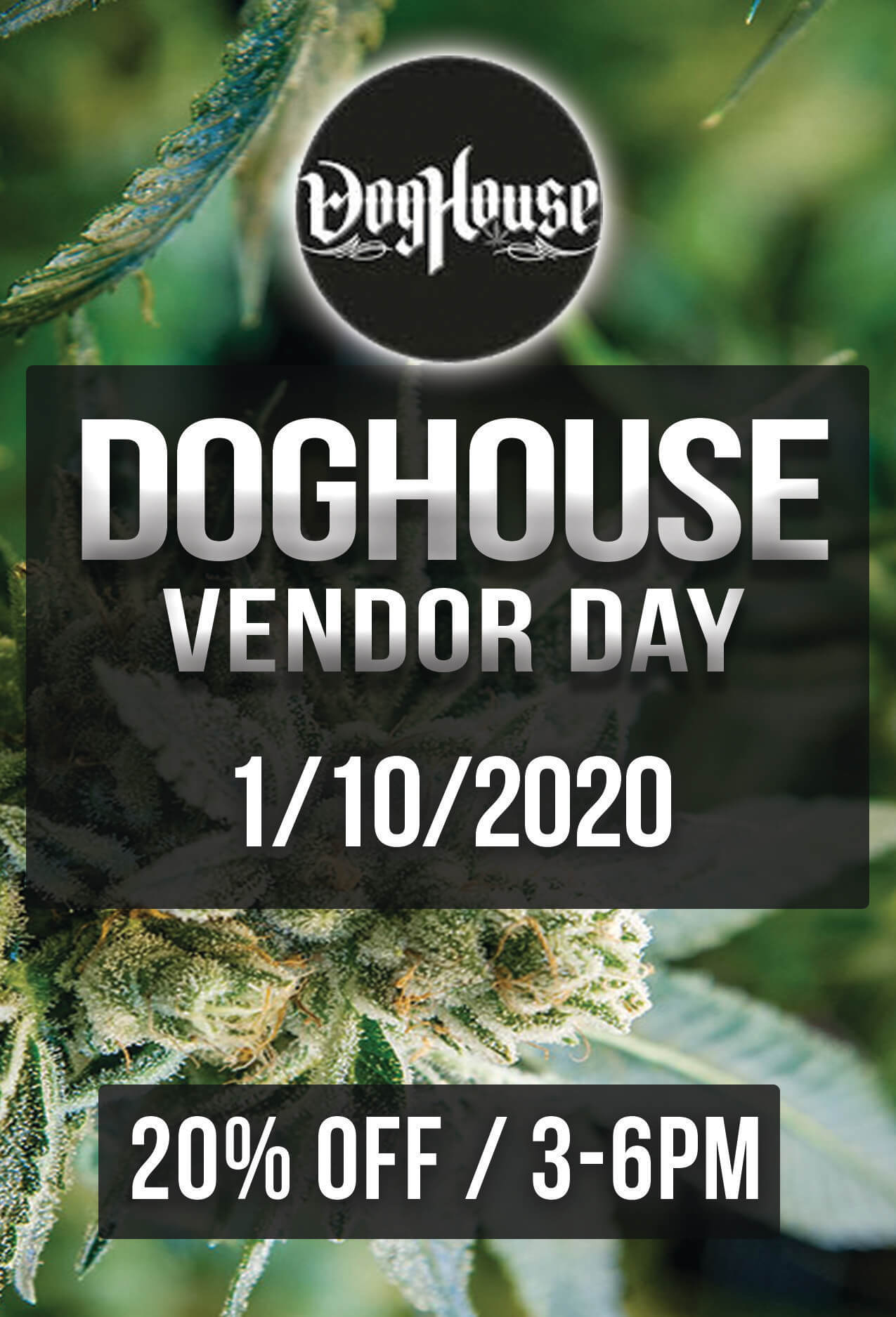 DOGHOUSE Vendor Day – 1/10/2020