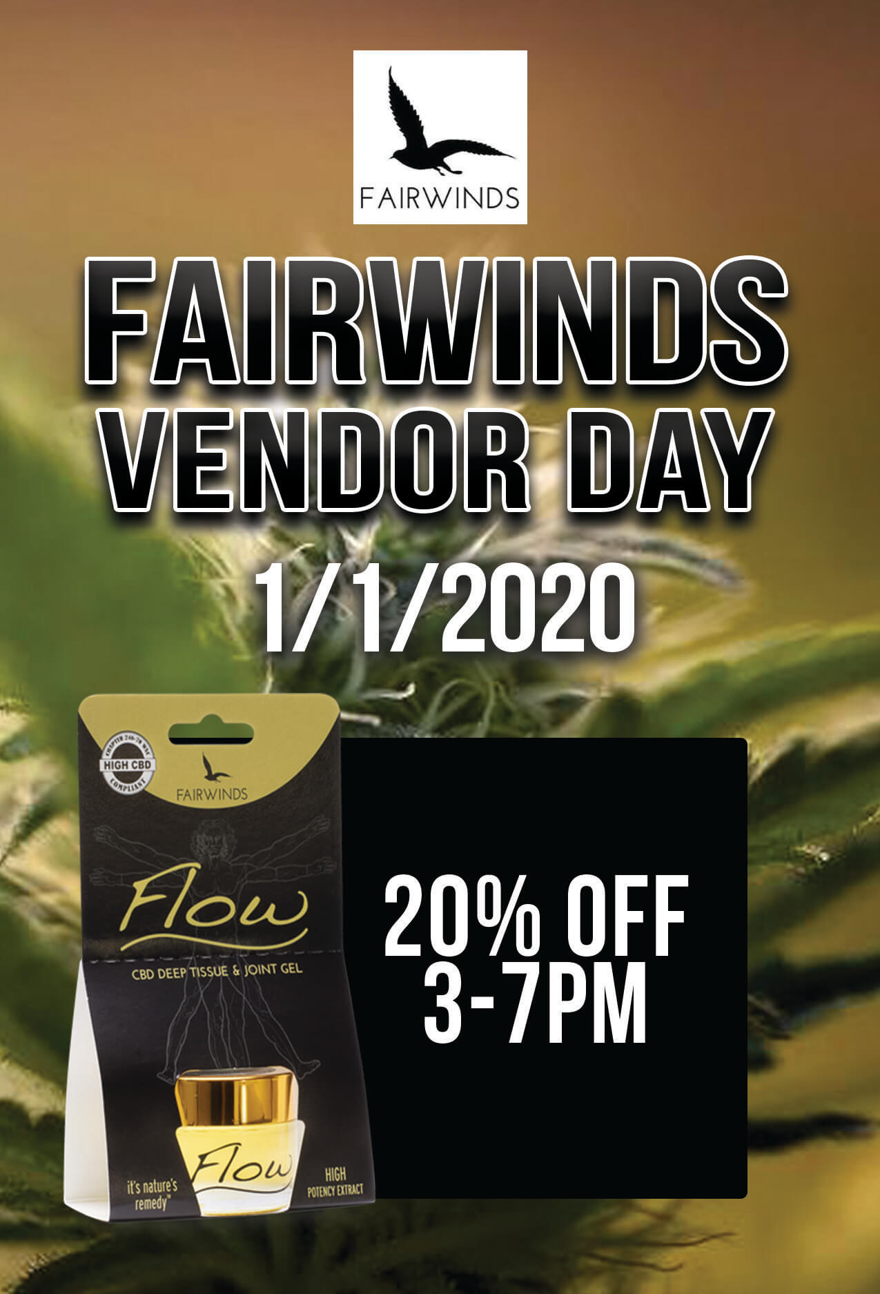 FAIRWINDS Vendor Day – 1/1/2020