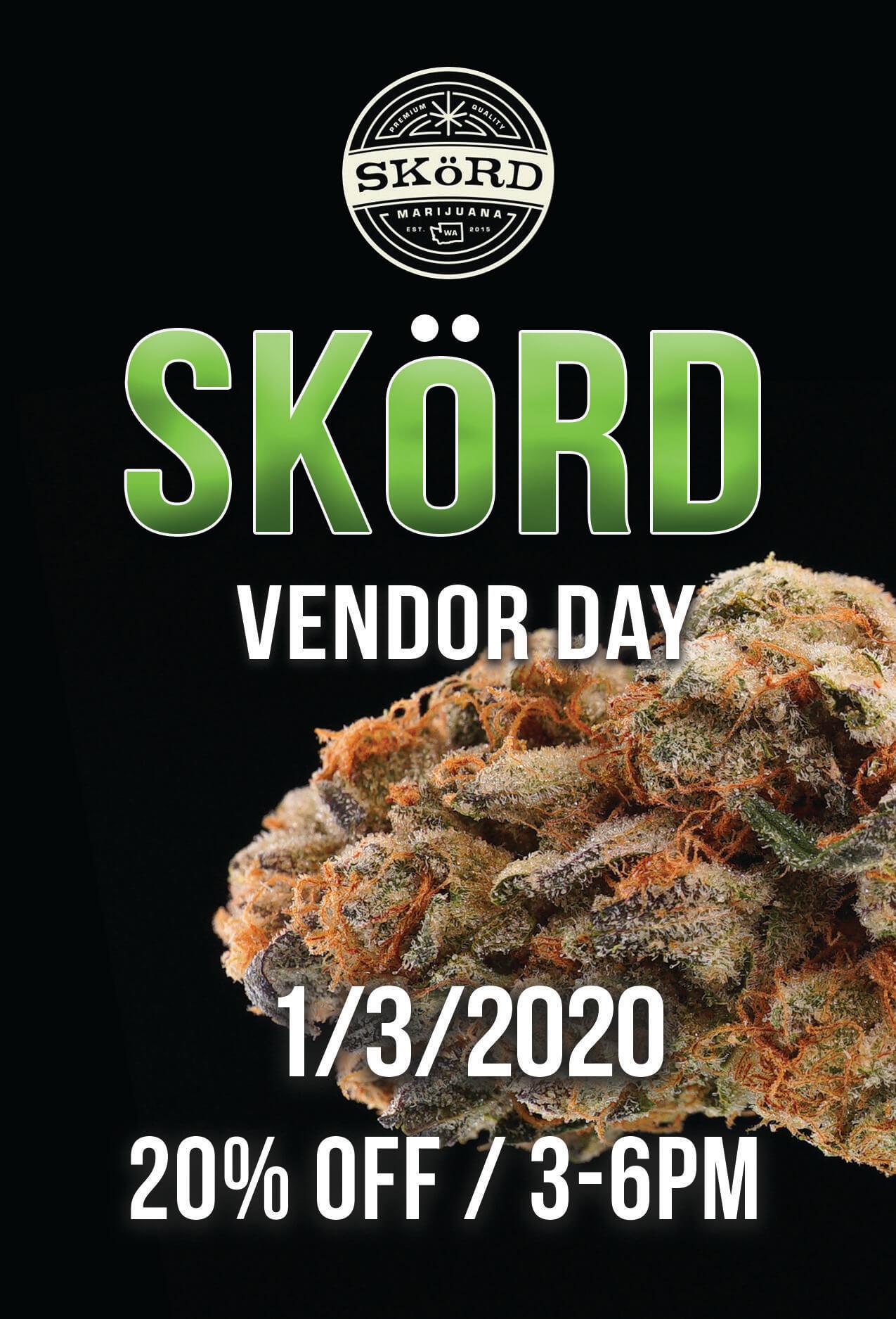 SKORD Vendor Day – 1/3/2020